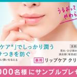 【4万人】花王 キュレル 薬用リップケアクリーム