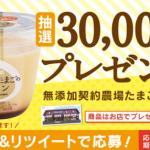 【3万名】シャトレーゼ 無添加契約農場たまごのプリン